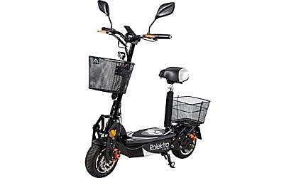 Elektro Scooter mit Sitz und Straßenzulassung